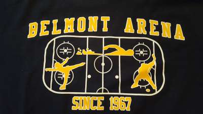 BELMONT ARENA - KITTANNING PENNSYLVANIA - 50 YEARS - A SALUTE AND THANK YOU TO THE MONTEBELL FAMILY