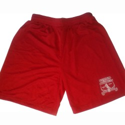 NJPHL Workout Shorts - Red